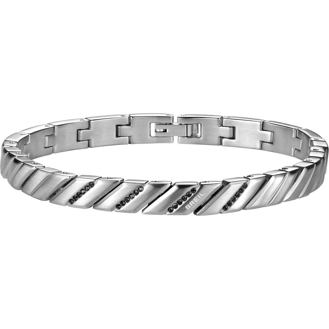 bracciale uomo gioielli Breil Cross Cut TJ1532