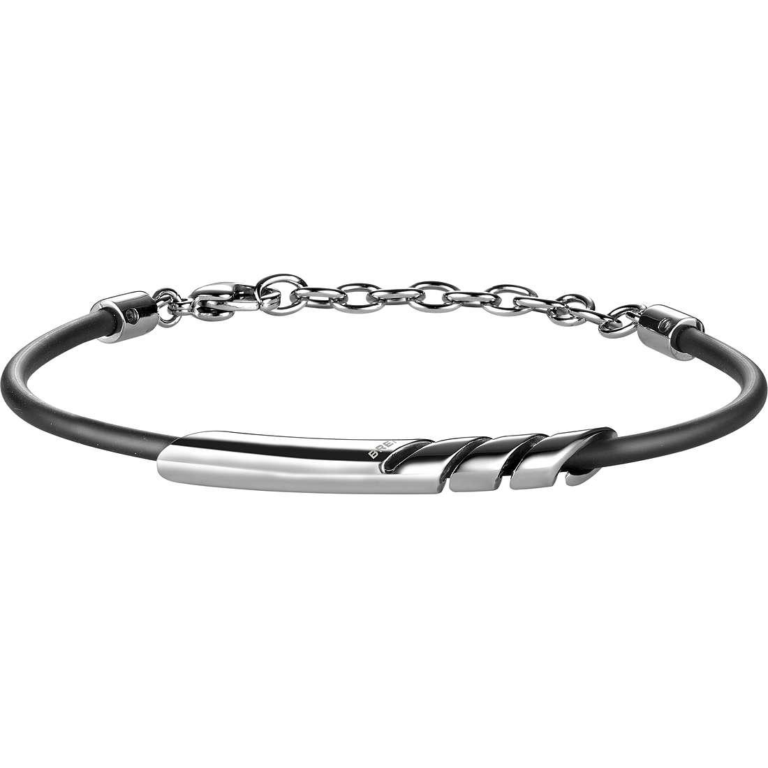 bracciale uomo gioielli Breil Cross Cut TJ1533
