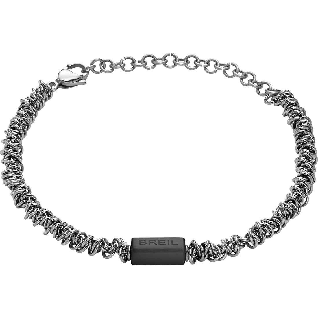 bracciale uomo gioielli Breil Vertigo TJ1743