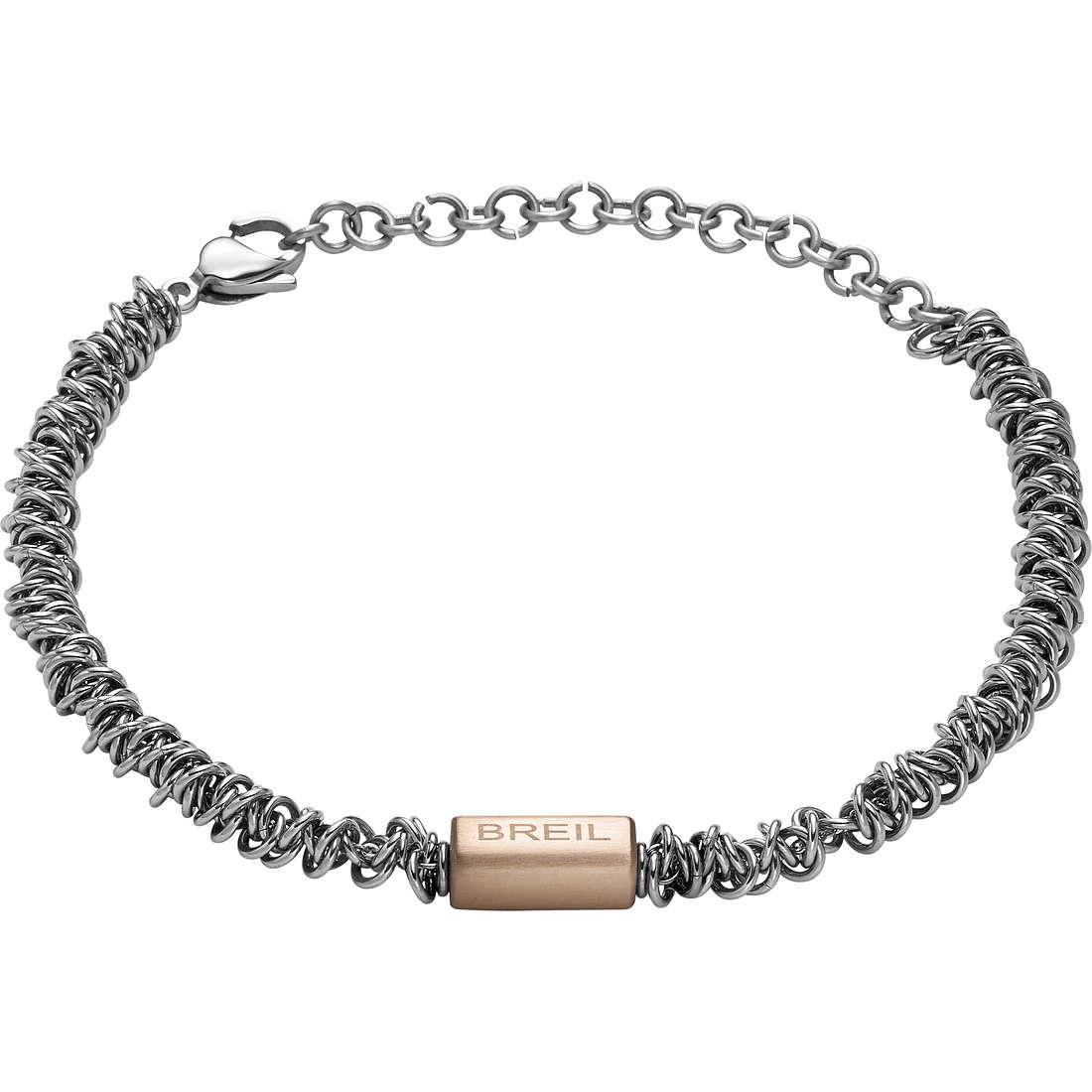 bracciale uomo gioielli Breil Vertigo TJ1745
