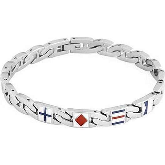 bracciale uomo gioielli Brosway Flat chain BFC22