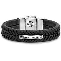 bracciale uomo gioielli Buddha To Buddha Komang B-161BL-E+