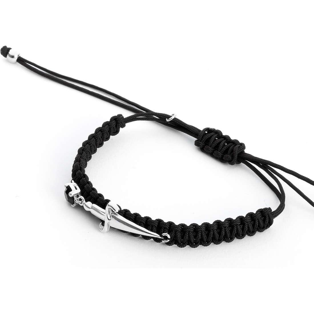 bracciale uomo gioielli Cesare Paciotti Precious Ropes JPBR1139B