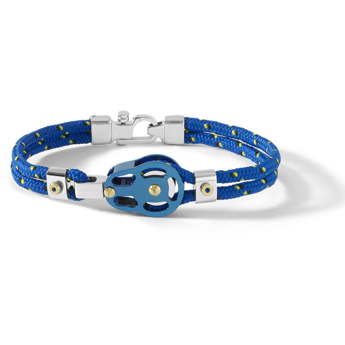 bracciale uomo gioielli Comete Blu di Genova UBR 726