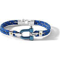 bracciale uomo gioielli Comete Blu di Genova UBR 730