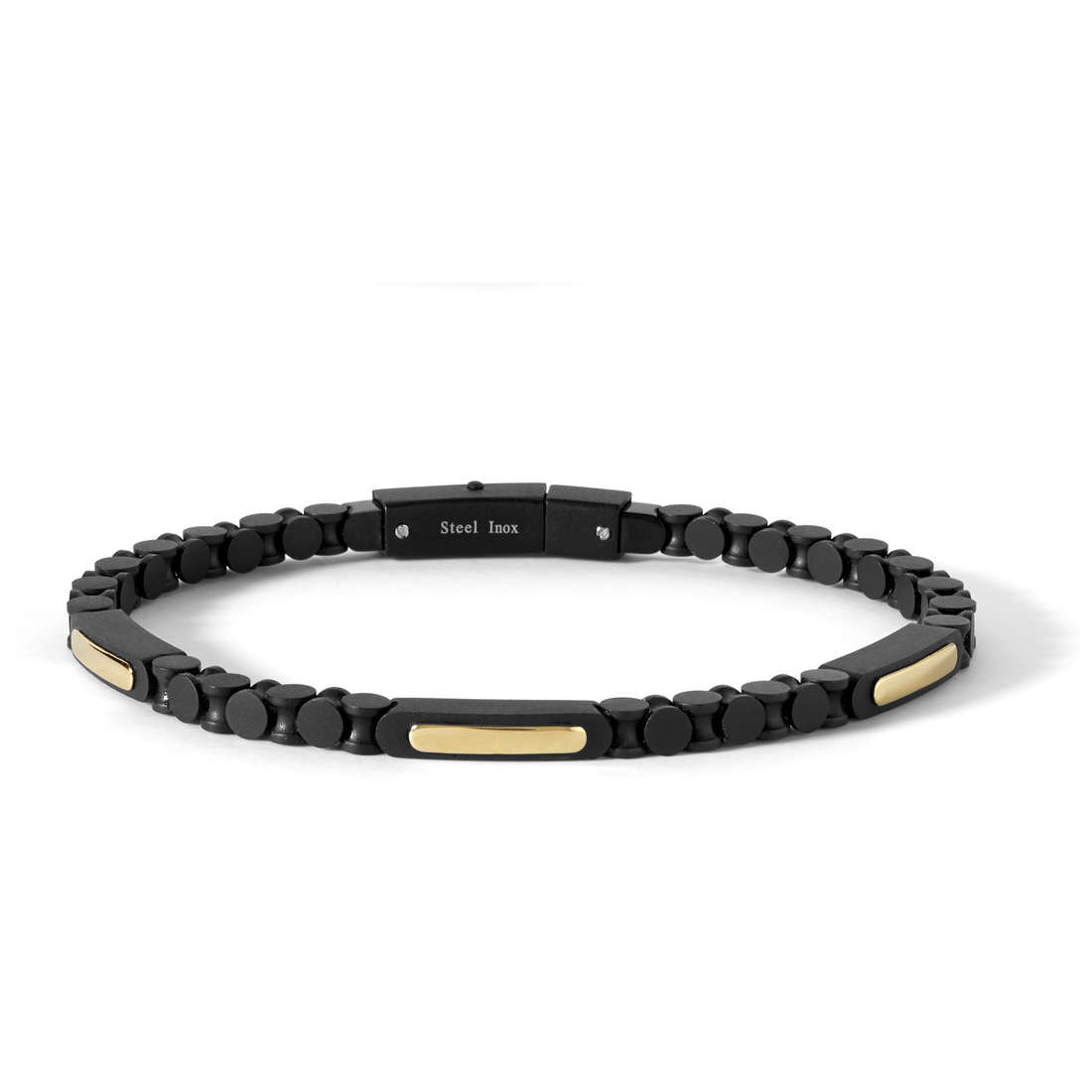 bracciale uomo gioielli Comete Cronos UBR 673