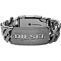 bracciale uomo gioielli Diesel Steel DX0656040
