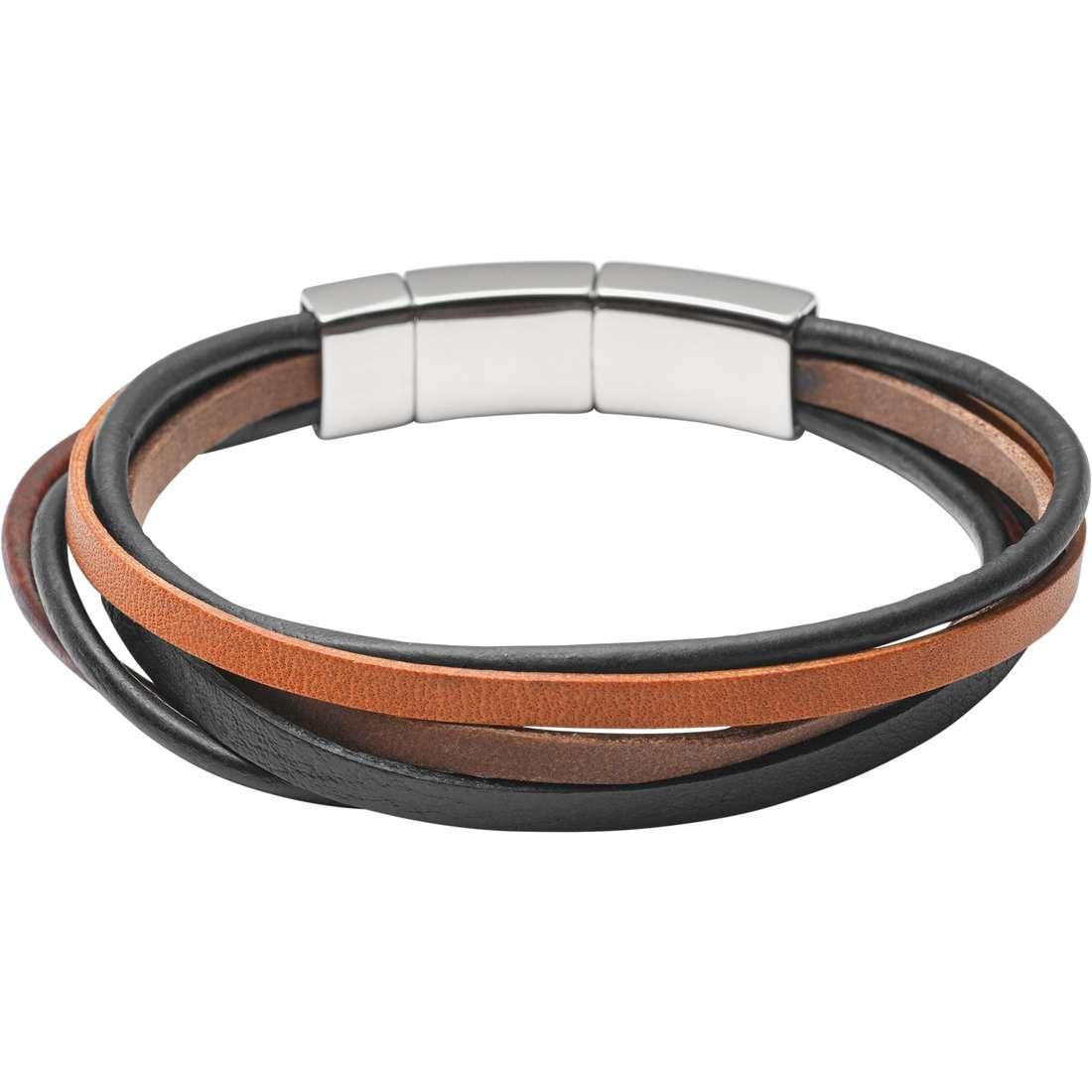 bracciale uomo gioielli Fossil Holiday 15 JF02076040