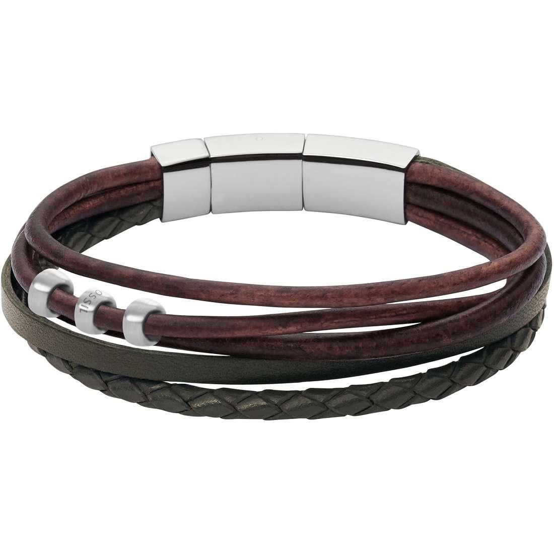 bracciale uomo gioielli Fossil Spring 16 JF02211040