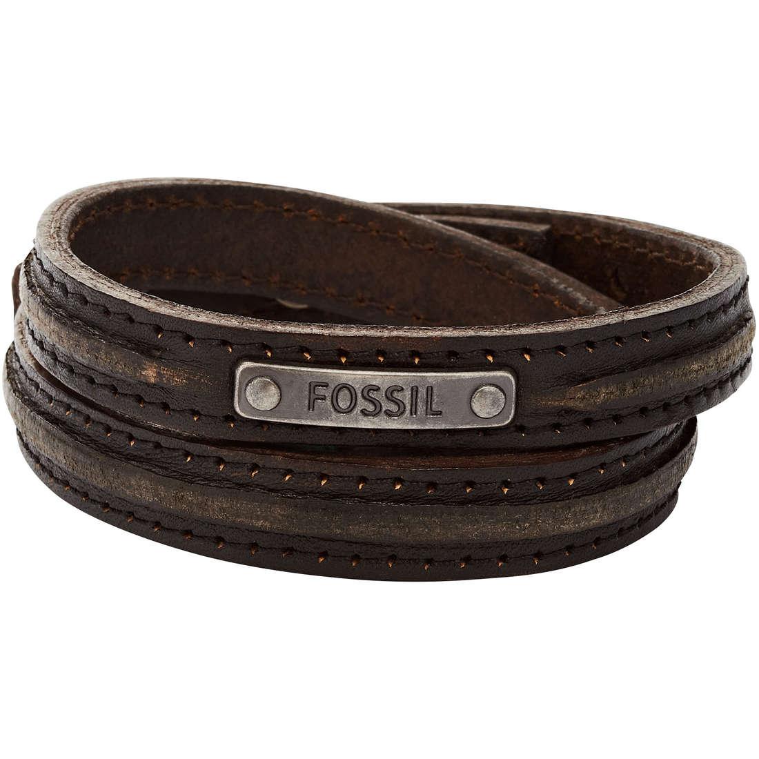 bracciale uomo gioielli Fossil Vintage Casual JA5746716