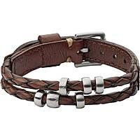 bracciale uomo gioielli Fossil Vintage Casual JF02345040