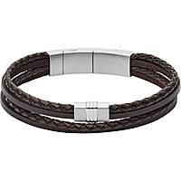 bracciale uomo gioielli Fossil Vintage Casual JF02934040