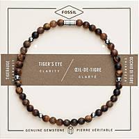 bracciale uomo gioielli Fossil Vintage Casual JF02939040