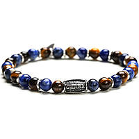 bracciale uomo gioielli Gerba Stone Classic BLUE ISLAND
