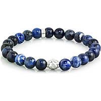 bracciale uomo gioielli Gerba Stone SODALITE BLUE