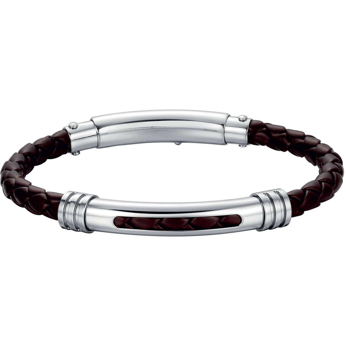 bracciale uomo gioielli Luca Barra LBBA515