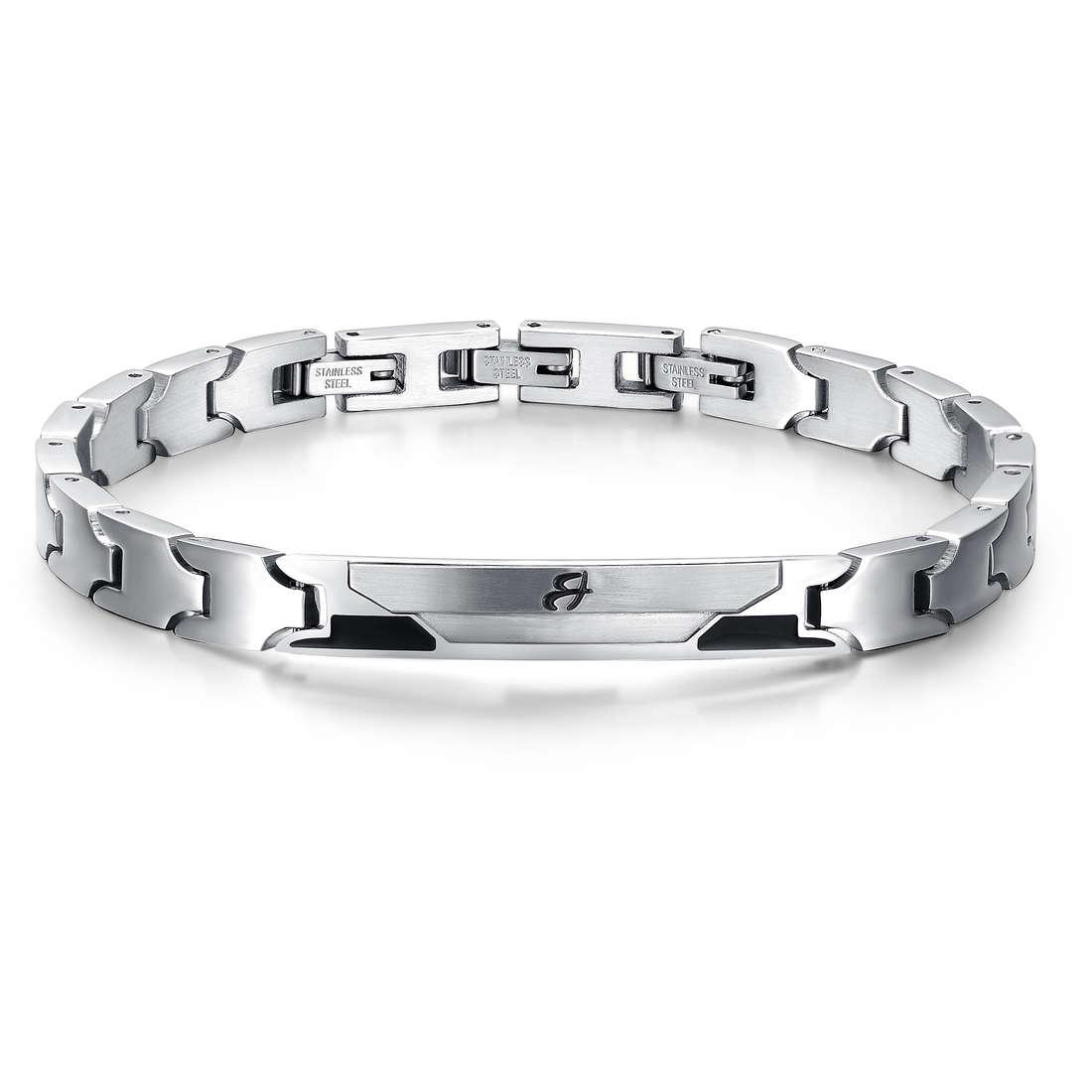 bracciale uomo gioielli Luca Barra LBBA529
