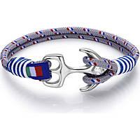 bracciale uomo gioielli Luca Barra Sailor LBBA885