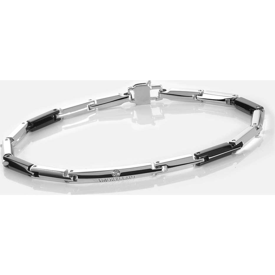 bracciale uomo gioielli Morellato Black & White SPL14