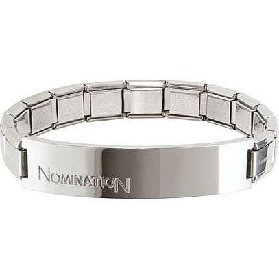 bracciale uomo gioielli Nomination Trendsetter 021106/004