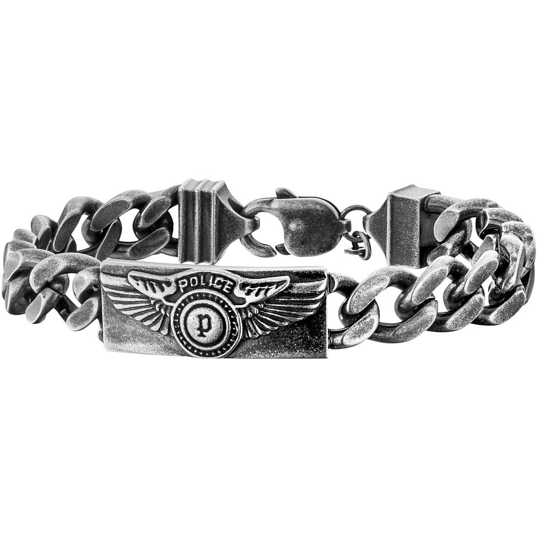bracciale uomo gioielli Police Freedom S14AIC05B