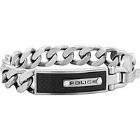 bracciale uomo gioielli Police Grip S14LF04B