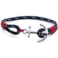 bracciale uomo gioielli Tom Hope Atlantic Red TM0042