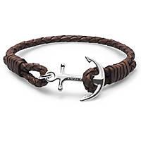 bracciale uomo gioielli Tom Hope Havana Brown TM0211