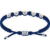 bracciale uomo gioielli Zancan Infinity EXB843R-BL