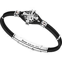 bracciale uomo gioielli Zancan Kompass EXB862R-NE