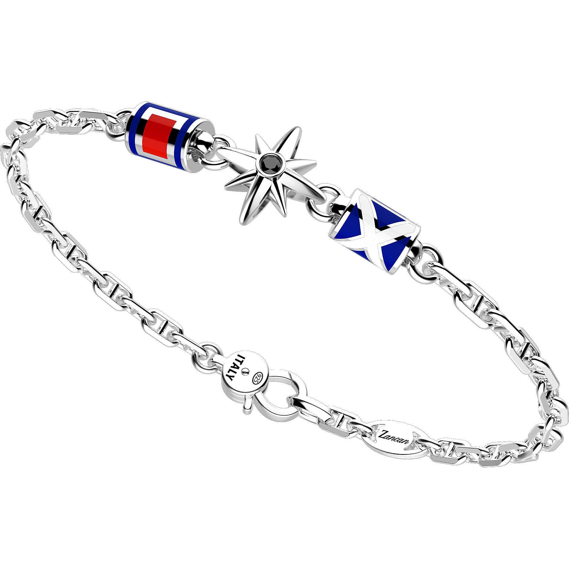 5c6e0ea618eed4 bracciale uomo gioielli Zancan Regata EXB678 bracciali Zancan