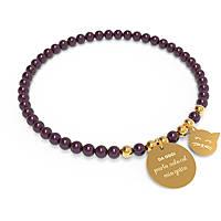 bracelet femme bijoux 10 Buoni Propositi Bon Bon B5107GO/BU