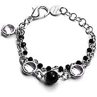 bracelet femme bijoux 4US Cesare Paciotti Black Pupils 4UBR1818W