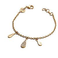bracelet femme bijoux 4US Cesare Paciotti Gold Water 4UBR2023W