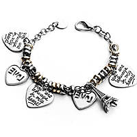 bracelet femme bijoux 4US Cesare Paciotti Love In Paris 4UBR1833W