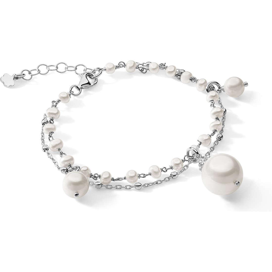 bracelet femme bijoux Ambrosia Black And White AAB 114