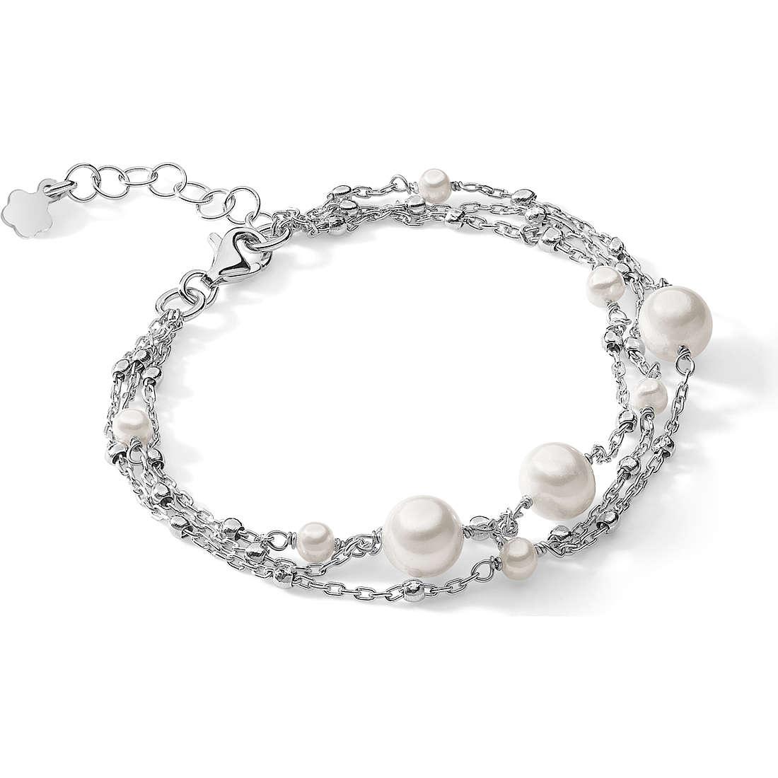 bracelet femme bijoux Ambrosia Black And White AAB 115