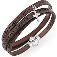 bracelet femme bijoux Amen Padre Nostro Italiano AS-PNIT05-54