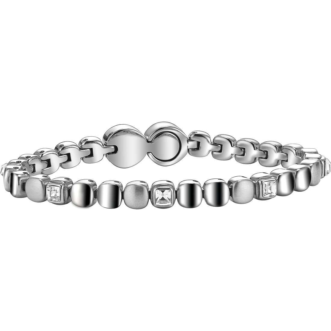 bracelet femme bijoux Breil Rolling Diamonts TJ1453