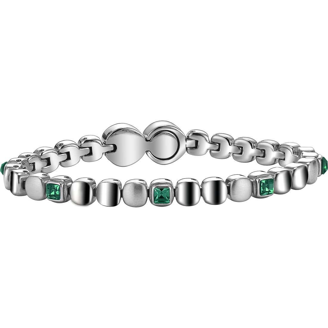 bracelet femme bijoux Breil Rolling Diamonts TJ1456