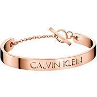 bracelet femme bijoux Calvin Klein Message KJ7CPF10030M