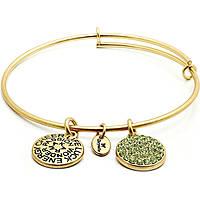 bracelet femme bijoux Chrysalis Buona Fortuna CRBT0108GP