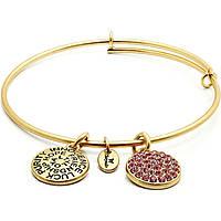bracelet femme bijoux Chrysalis Buona Fortuna CRBT0110GP