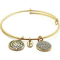 bracelet femme bijoux Chrysalis Buona Fortuna CRBT0112GP