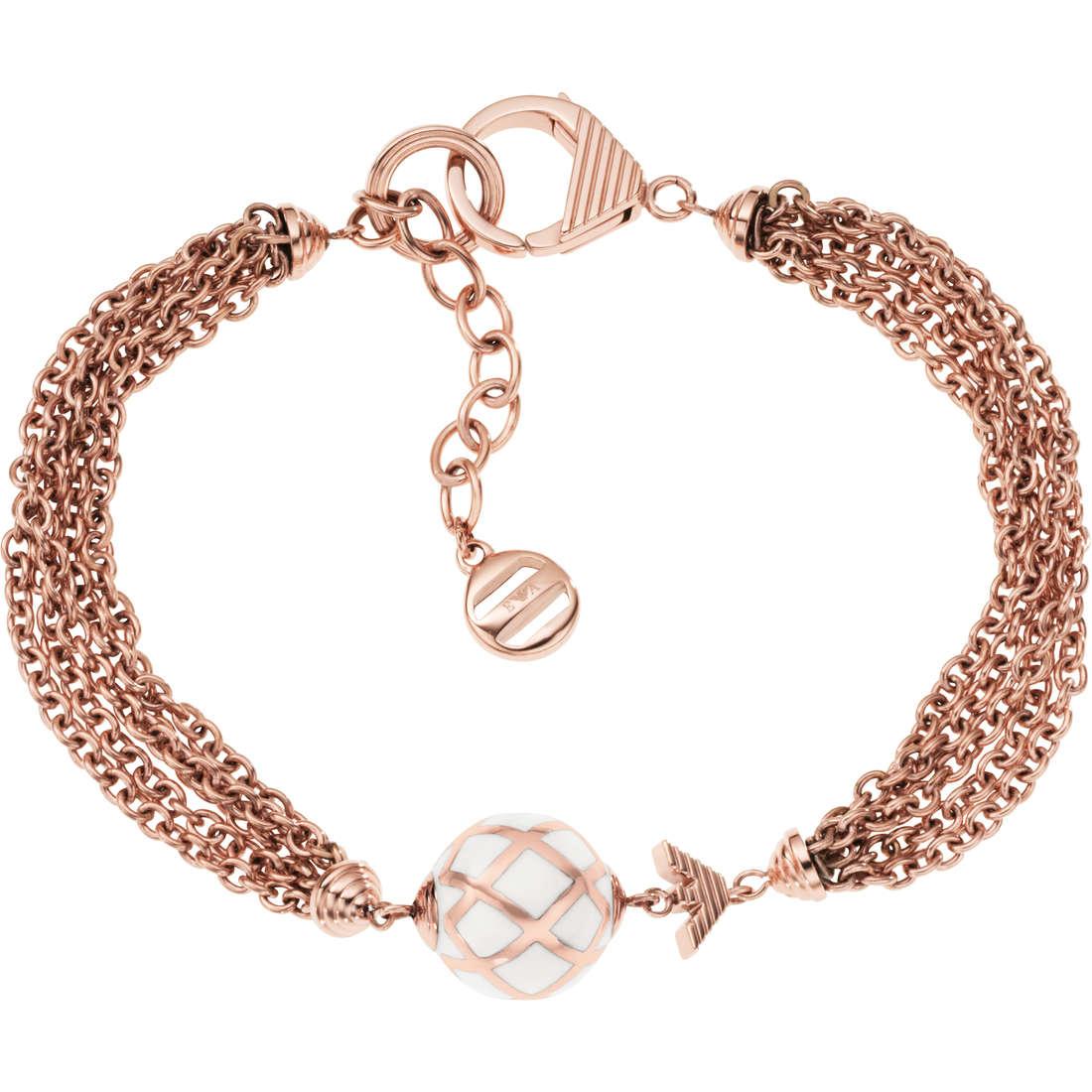 bracelet femme bijoux Emporio Armani EGS1678221