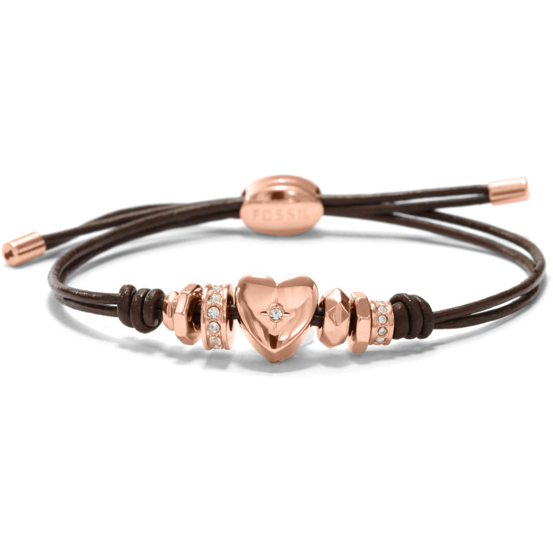 bracelet femme bijoux Fossil JF00651791