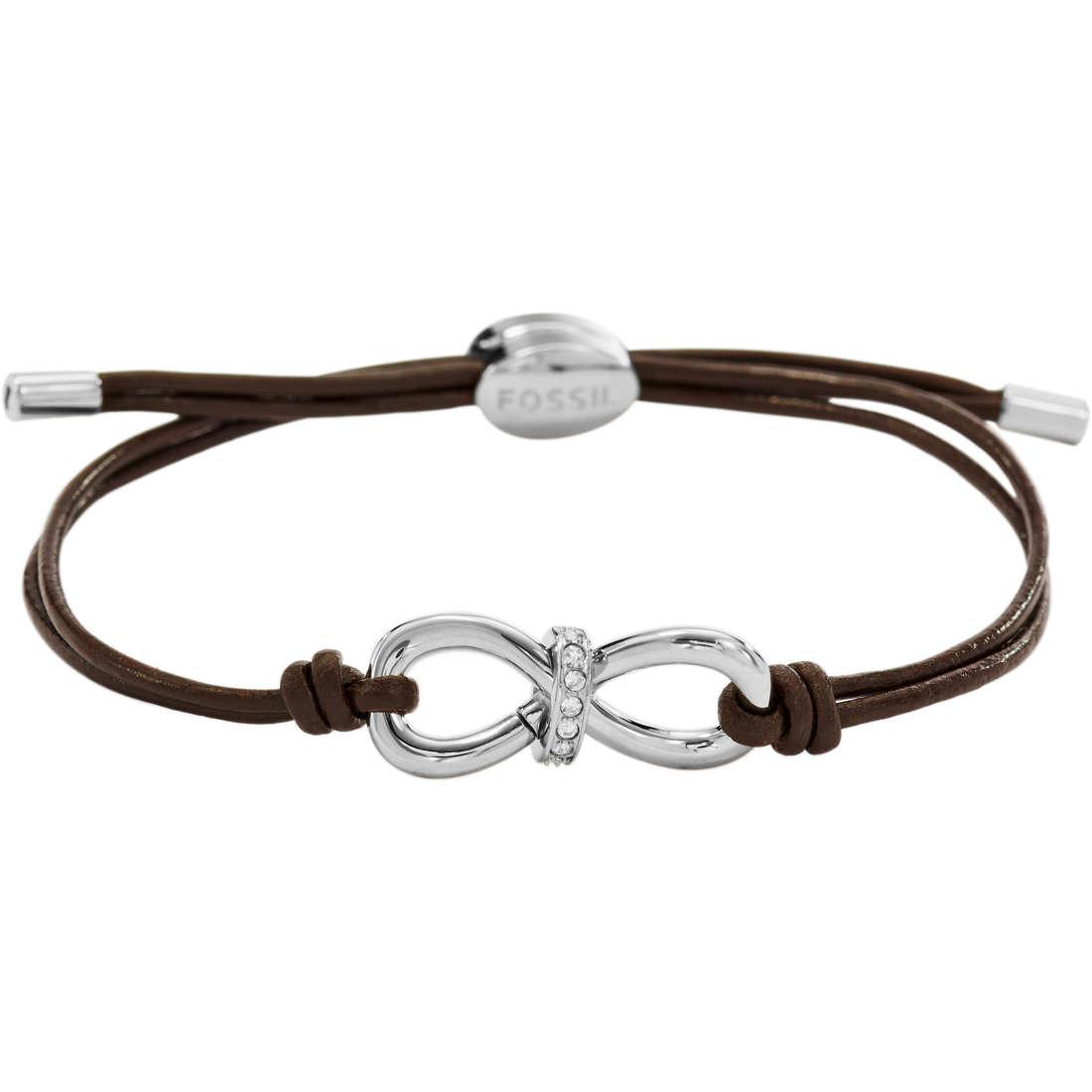 bracelet femme bijoux Fossil JF01106040