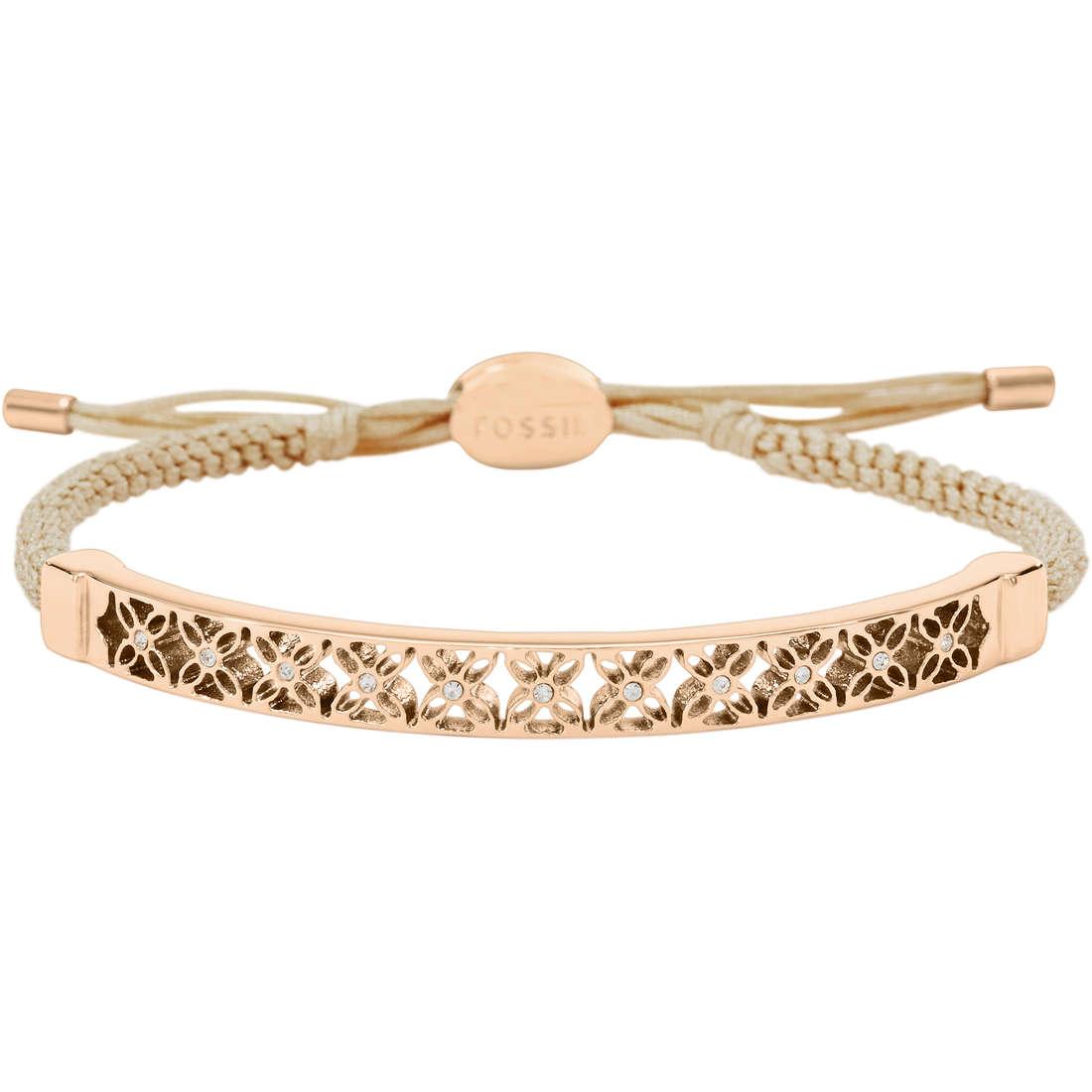 bracelet femme bijoux Fossil JF01135791