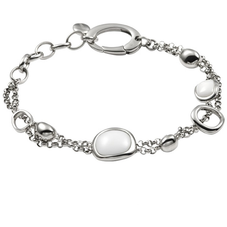bracelet femme bijoux Fossil JF84849040