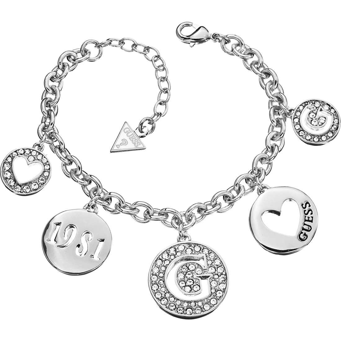 bracelet femme bijoux Guess G Girl UBB51430